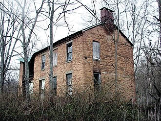 Canaan Township, Athens County, Ohio - Savage-Stewart House