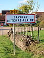 Savigny-en-Terre-Plaine-FR-89-panneau d'agglomération-01.jpg