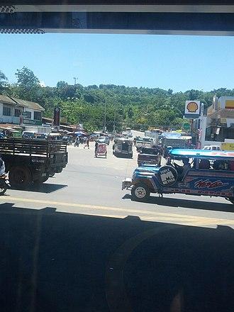 Sayre Highway - Image: Sayre Highway seen from Puerto Flyover