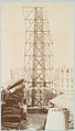 Scaffolding for the assemblage of the Statue of Liberty, of....jpg