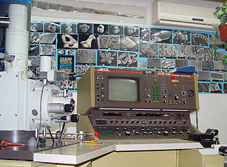 Scanning electron microscope - Analog type SEM