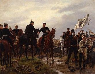 Emil Hünten - Battle of Königgrätz