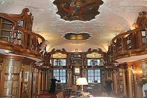 Schloss Leopoldskron - Library