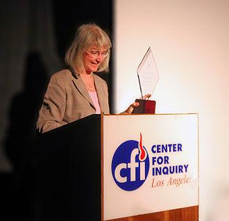 Eugenie Scott - 2009 Independent Investigations Award Recipient