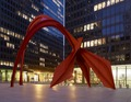 "Sculpture ""Flamingo"" at Federal Center Plaza, John C. Kluczynski Federal Building, Chicago, Illinois LCCN2010719974.tif"