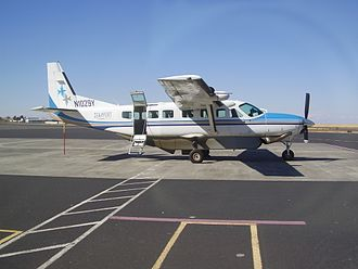Eastern Oregon Regional Airport - Cessna 208 of SeaPort Airlines on the apron