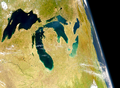 SeaWiFS Image of Great Lakes from Space.png