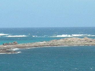 Seal Island (St Alouarn Islands) - Seal Island in 2007 with a south westerly wind, near Cape Leeuwin
