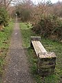 Seat by the bridleway - geograph.org.uk - 1173968.jpg