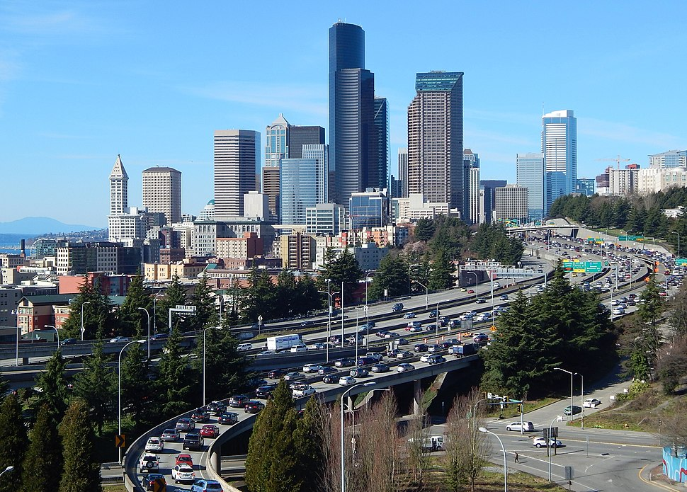 Seattle seen from Rizal Park area