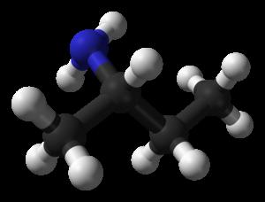 Sec-Butylamine - Image: Sec butylamine from xtal 2010 3D balls