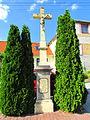 Second Wayside cross in Přešovice, Třebíč District.JPG