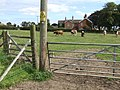 Second gate to St Andrews graveyard, Miningsby - geograph.org.uk - 554956.jpg