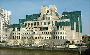 SIS Building - Image: Secret Intelligence Service building Vauxhall Cross Vauxhall London 24042004
