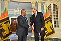 Secretary Kerry Meets With Sri Lankan Foreign Minister Mangala Samaraweera at the State Department (16326783959).jpg