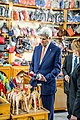 Secretary Kerry Visits an Artisanal Complex at COP22 in Marrakech (30919537691).jpg