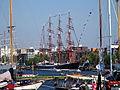 Sedov (ship, 1921), Port of Amsterdam, pic3.JPG