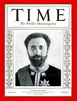 Cover of Time magazine, 3 November 1930