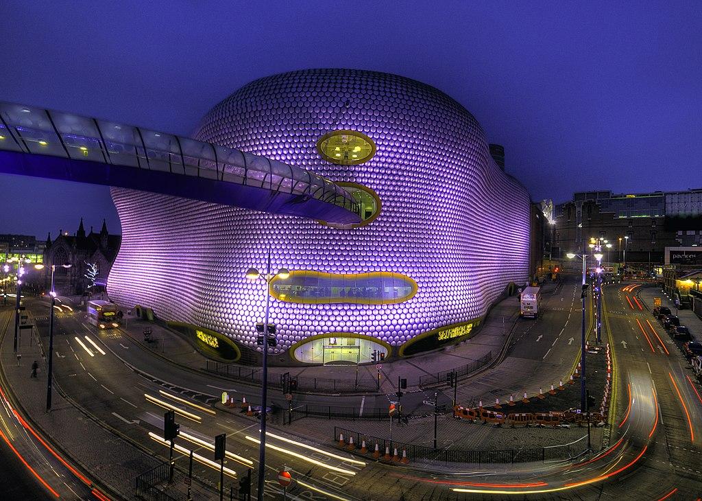 Buildings In Birmingham City Centre