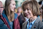 Senator Tina Smith at an event in support of DACA at Hennepin County Government Center Minneapolis, MN (38666528805).jpg