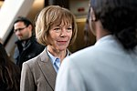 Senator Tina Smith at an event in support of DACA at Hennepin County Government Center Minneapolis, MN (38667519115).jpg