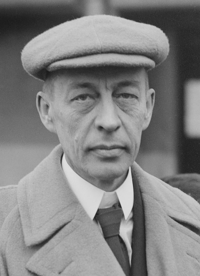 Sergei Rachmaninoff - Top Ten people with Marfan Syndrome
