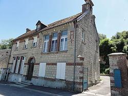 Serval (Aisne) mairie.JPG