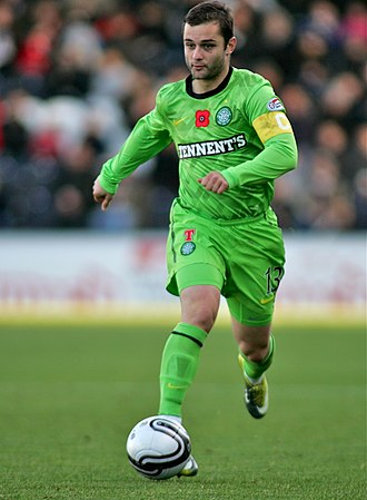Shaun Maloney - Maloney playing for Celtic in November 2010