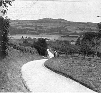 Vauxhall 30-98 - Higginson climbs Shelsley Walsh in the first 30–98, 7 June 1913