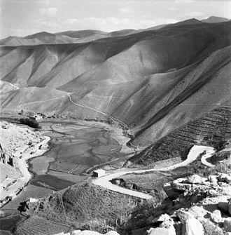 Shibar Pass - Shibar pass in 1961