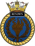 Ships crest of HMS Renown (S26).jpg