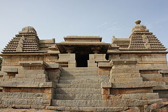 Kampili kingdom - Shiva temple on Hemakuta hill in Hampi was built by Kampili Raya, ruler of the Kampili Kingdom.