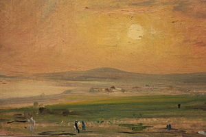 Shoreham-by-Sea - Shoreham Bay, May 1828, by John Constable