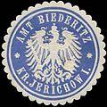 Siegelmarke Amt Biederitz Kreis Jerichow I. W0387744.jpg