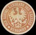 Siegelmarke Der K. Landrath des Kreises Burgdorf W0391059.jpg