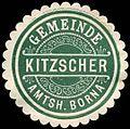 Siegelmarke Gemeinde Kitzscher - Amtshauptmannschaft Borna W0252385.jpg