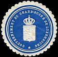 Siegelmarke Gouvernement du Grand - Duché de Luxembourg W0235197.jpg