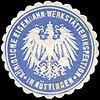 Siegelmarke Königliche Eisenbahn - Werkstätteninspektion in Göttingen W0223164.jpg