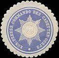 Siegelmarke K.Pr. Commando des Cadetten-Corps W0360144.jpg