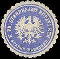 Siegelmarke K.Pr. Standesamt Bützfleth Stader Marschkreis W0334643.jpg