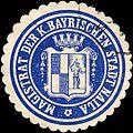 Siegelmarke Magistrat der Königlich Bayrischen Stadt Naila W0212111.jpg