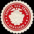 Siegelmarke Siegel der Stadt Strelitz W0226450.jpg