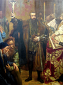 Sigismund II August of Poland during Lublin Union in 1569.png