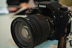 Sigma SD1 with 17-50mm, f/2.8