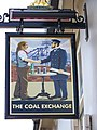 Sign for the Coal Exchange, Emsworth - geograph.org.uk - 798626.jpg