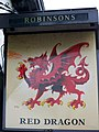 Sign for the Red Dragon - geograph.org.uk - 1809020.jpg