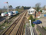 Signal box at Thetford Station - geograph.org.uk - 385609.jpg
