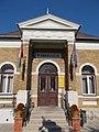 Simontornya Town Hall. Listed ID -3298. Portal. - Hungary.JPG