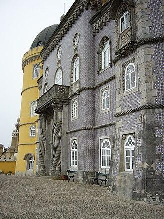 Pena Palace - The entrance