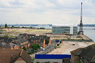 Woolston, Southampton - The Site, May 2007